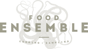reggio emilia foodensemble five logo grafica illustrazione